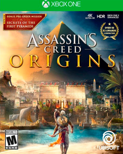Detalhes do produto xbox one assassin s creed origins