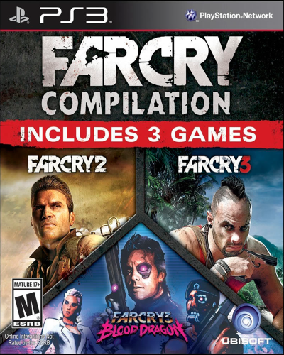 Detalhes do produto sony 3 farcry compilation