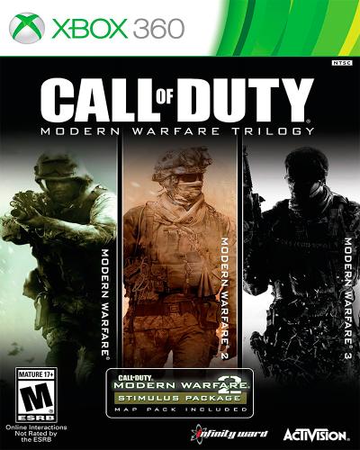 Detalhes do produto xbox 360 call of duty warfare trilogy