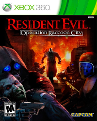 Detalhes do produto xbox 360 resident evil raccoon city