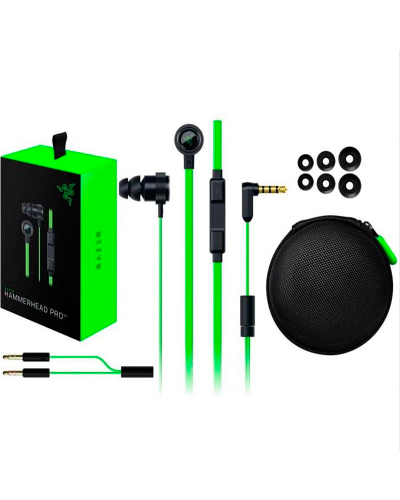 Detalhes do produto razer headset hammerhead pro v2 01730100
