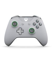 Detalhes do produto xbox one acs joy  org s grey green 00060 61