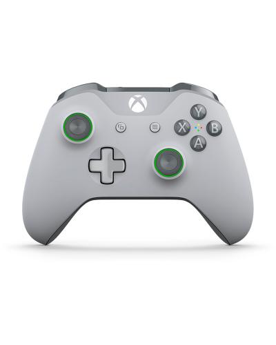 Detalhes do produto xbox one acs joy  org s grey green 00060