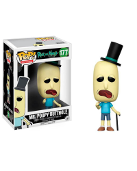Detalhes do produto pop rick and morty 177 mr poopy butthole 12442