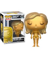 Detalhes do produto pop 007 519 golden girl from goldfinger  24703