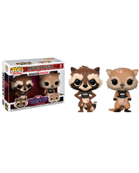 Detalhes do produto pop guardians galaxy 2 pack  rocket and lylla23212