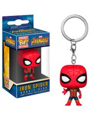 Detalhes do produto pop chaveiro avengers i w  iron spider 27302