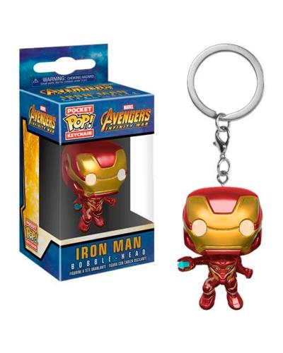 Detalhes do produto pop chaveiro avengers i w  iron man 27303