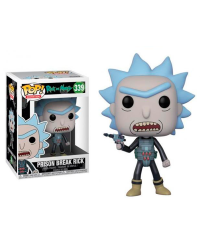 Detalhes do produto pop rick and morty 339 prison break rick 28450