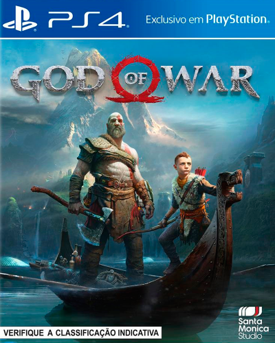 Detalhes do produto sony4 god of war 4 new
