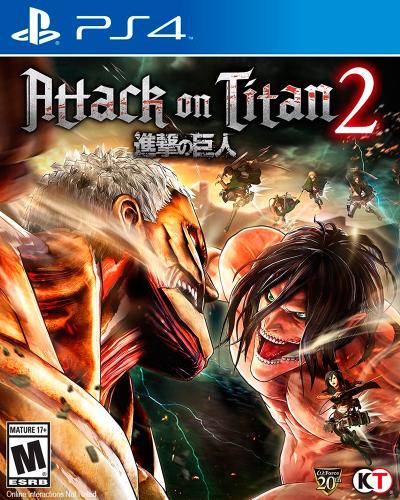 Detalhes do produto sony4 attack on titan 2