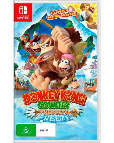 Detalhes do produto switch donkey kong country trop freeze