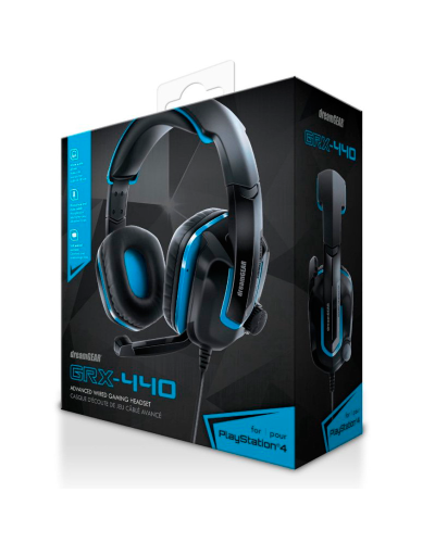 Detalhes do produto acs headset dreamgear grx 440 ps4 06447