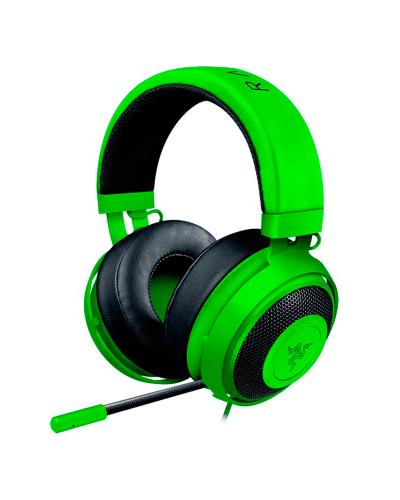 Detalhes do produto razer headset kraken pro v2 oval green 02050600