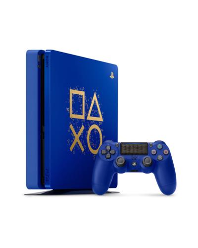 Detalhes do produto console ps4 01 tb cuh 2115b blue edition