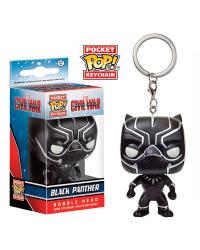 Detalhes do produto pop chaveiro black p black panther gw 24082