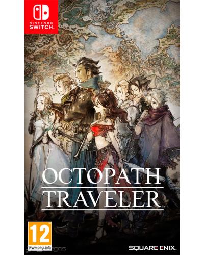 Detalhes do produto switch octopath traveler