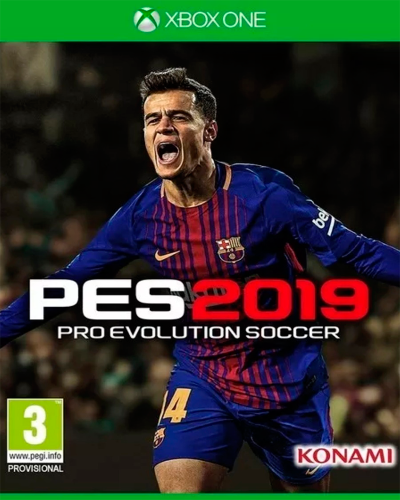 Detalhes do produto xbox one pro evolution soccer 2019