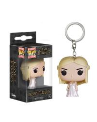 Detalhes do produto pop chaveiro got daenerys white coat 31813