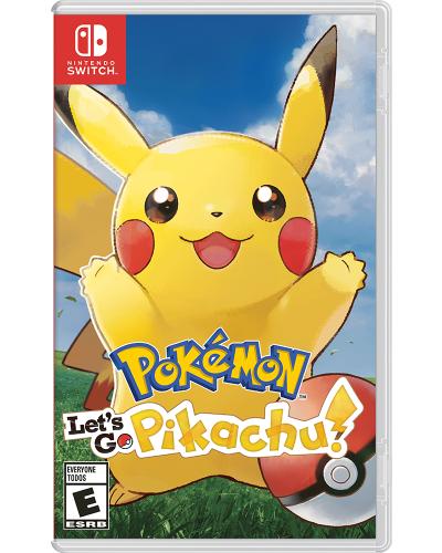 Detalhes do produto switch pokemon pikachu