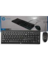 Detalhes do produto pc teclado  mouse hp c2500