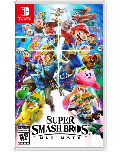 Detalhes do produto switch super smash bros ultimate