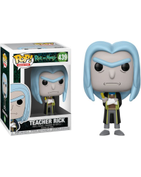 Detalhes do produto pop rick and morty 439 teacher rick 35590