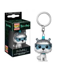 Detalhes do produto pop chaveiro rick and morty snowball 32351