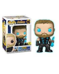 Detalhes do produto pop avengers i war 286 ex glow  thor 29773