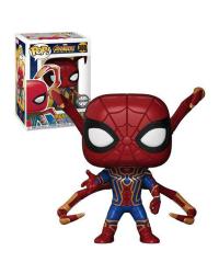 Detalhes do produto pop avengers i war 300 ex  iron spider 27296