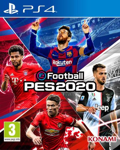 Detalhes do produto sony4 football pes2020