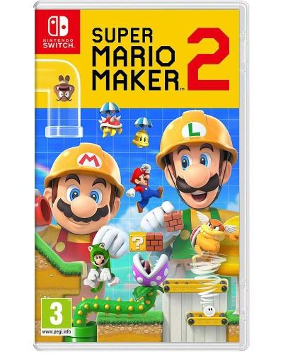Detalhes do produto switch super mario maker 2