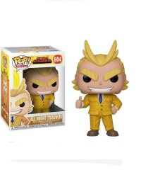 Detalhes do produto pop my hero academia 604 all might  teacher  42932