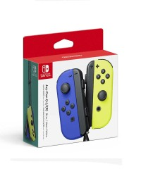Detalhes do produto switch acs joy con blue yellow  par