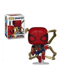 Detalhes do produto pop avengers 574 iron spider 45138