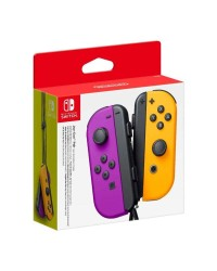 Detalhes do produto switch acs joy con purple orange