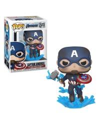 Detalhes do produto pop avengers 573 captain america 45137