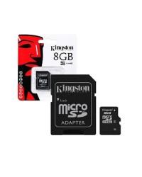 Detalhes do produto micro sd  8gb kingston m sd adap  oem