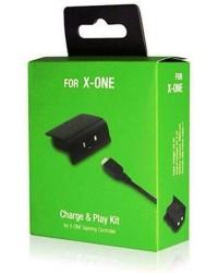 Detalhes do produto xbox one acs charge   play kit preto