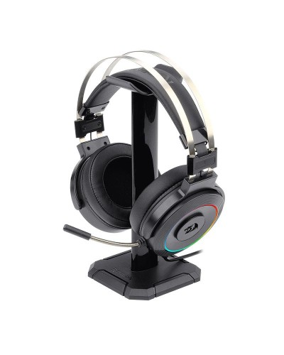 Detalhes do produto redragon headset lamia suporte h320rgb usb