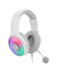 Detalhes do produto redragon headset pandora 7 1 branco h350w rgb