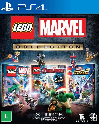 Detalhes do produto sony4 lego marvel collection