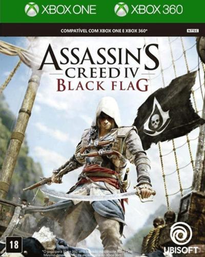 Detalhes do produto xbox one assassin s creed iv black flag x360