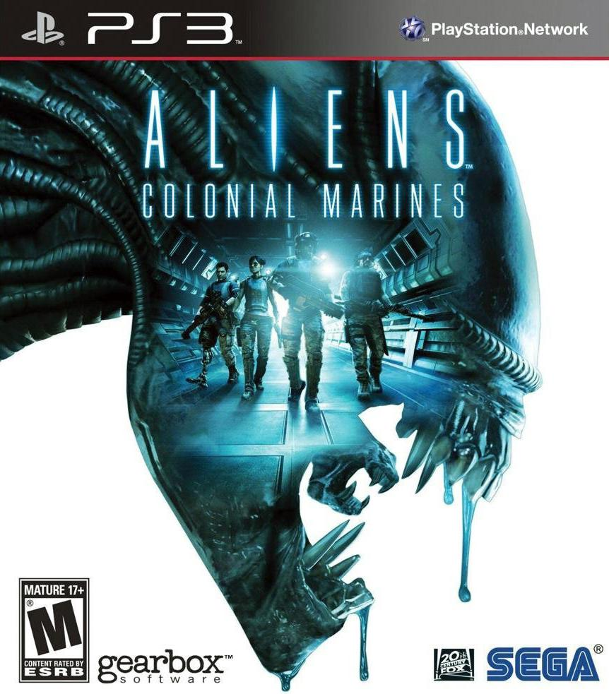 sony 3 aliens colonial marines