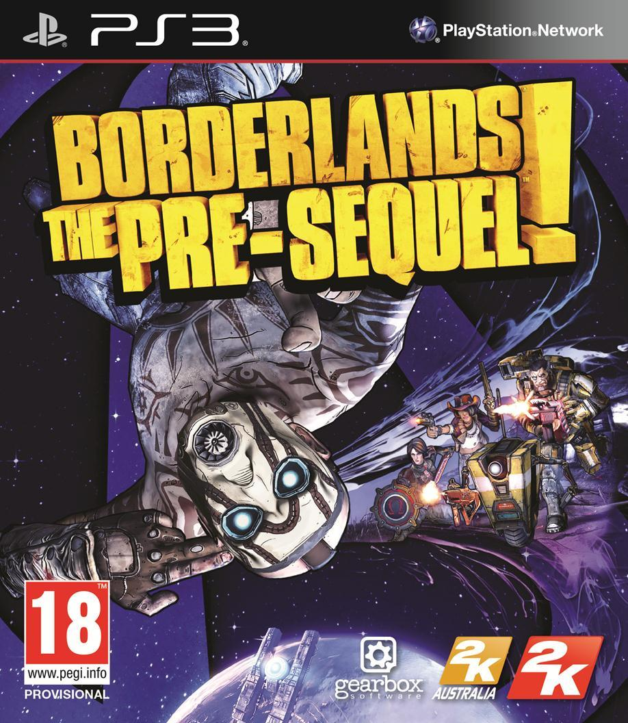 sony 3 borderlands pre sequel