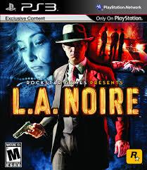 sony 3 l a  noire
