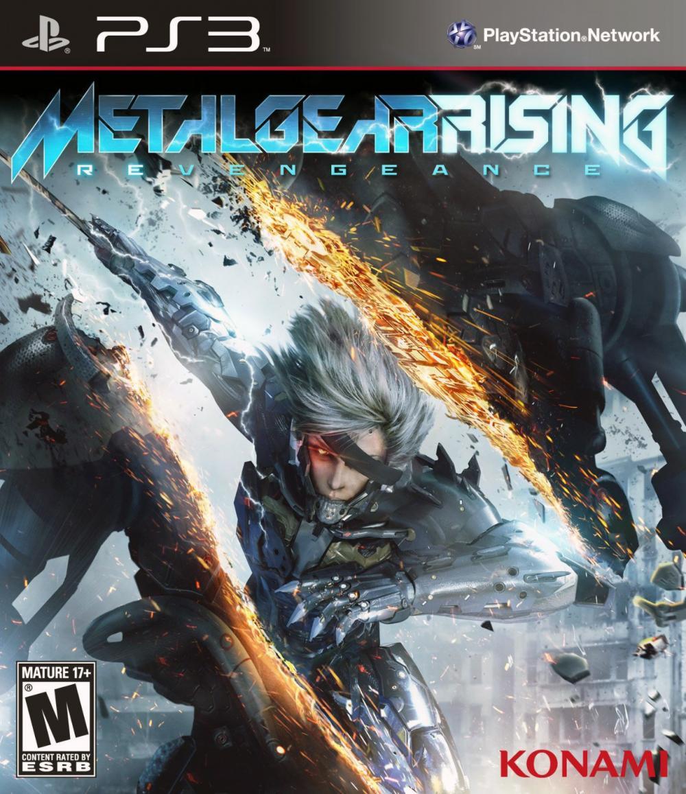 sony 3 metal gear rising revengeance