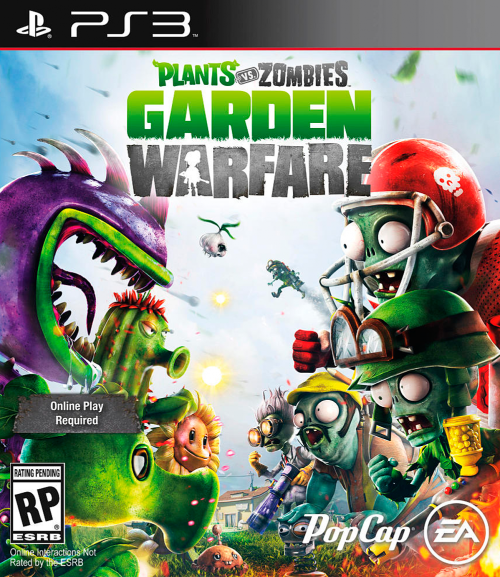 sony 3 plants vs zombies garden warfare