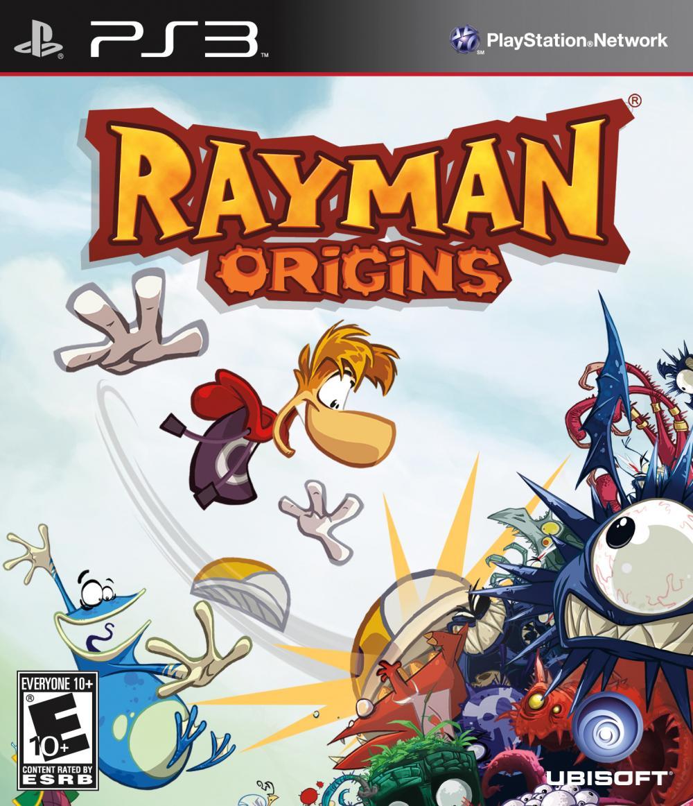 sony 3 rayman origins