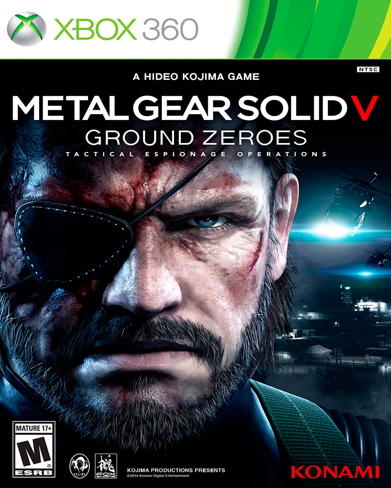 xbox 360 metal gear solid v ground zeroes